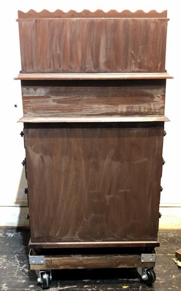 Mahogany Davenport desk, c.1930 - 8