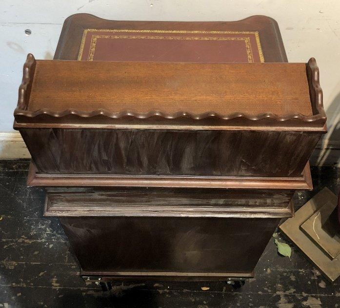 Mahogany Davenport desk, c.1930 - 9