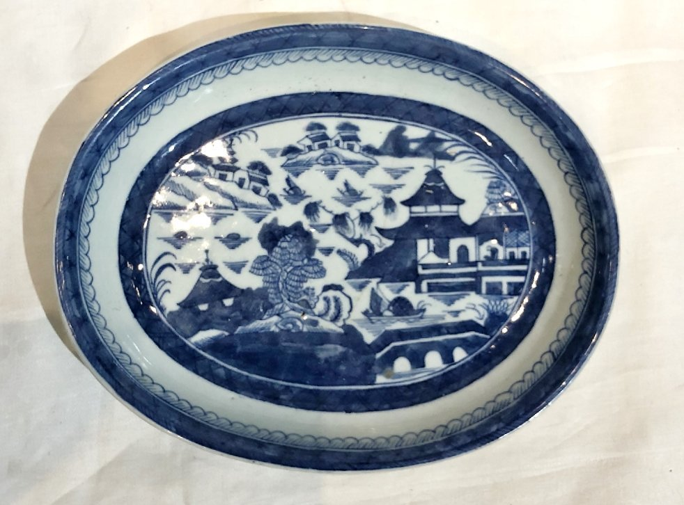 Chinese Canton plates, c.1900 - 2