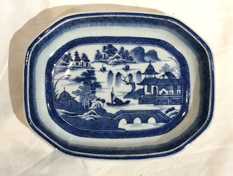 Chinese Canton plates, c.1900 - 4