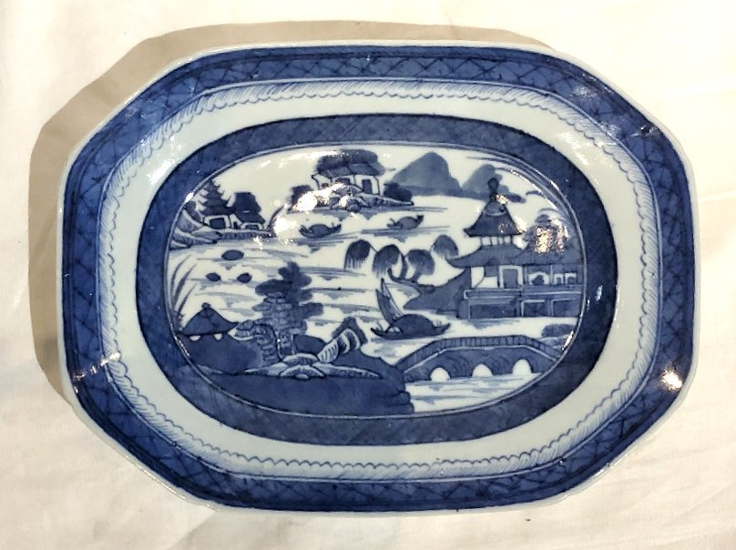 Chinese Canton plates, c.1900 - 6
