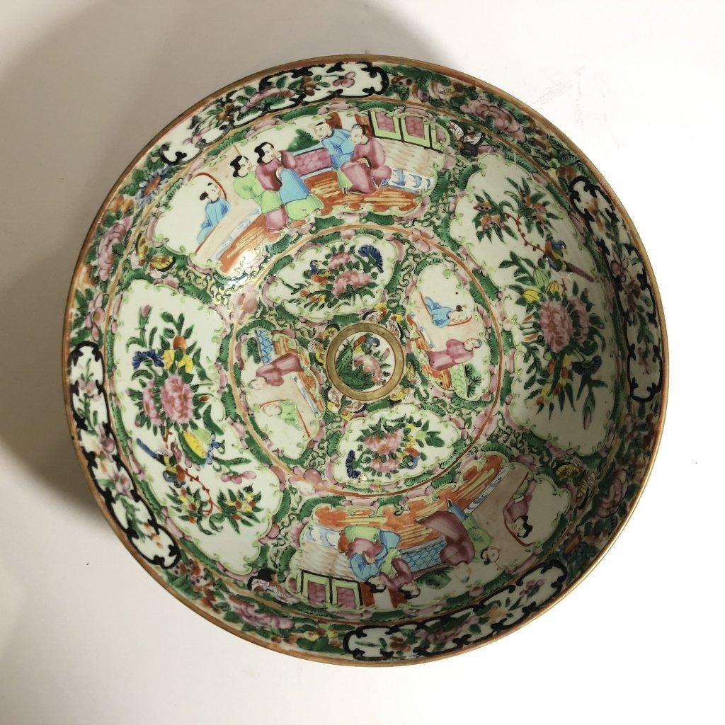 Rose Medallion bowl, c.1900