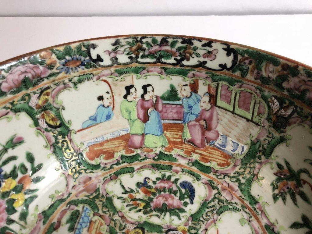 Rose Medallion bowl, c.1900 - 2