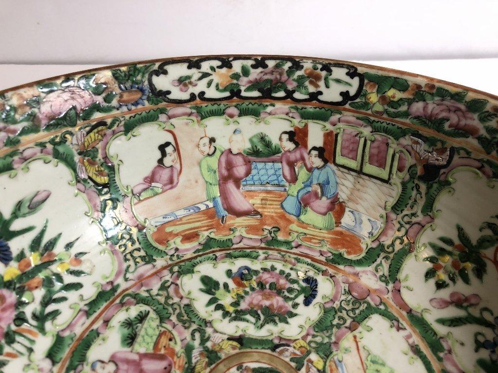 Rose Medallion bowl, c.1900 - 3