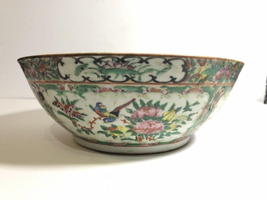 Rose Medallion bowl, c.1900 - 6