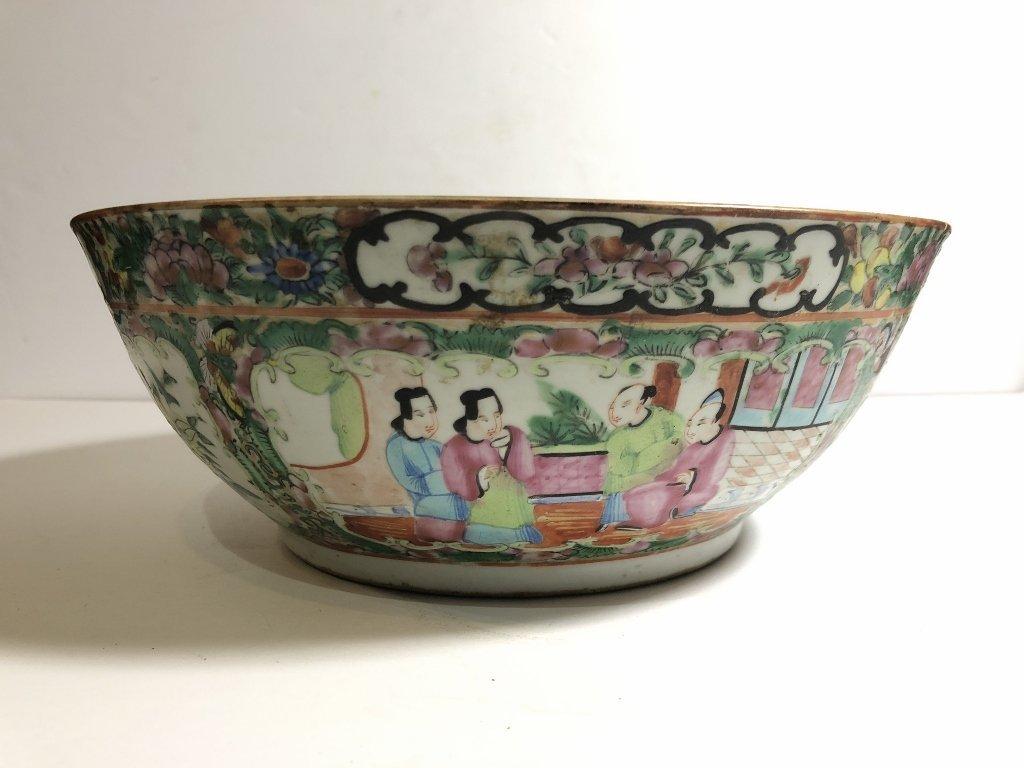Rose Medallion bowl, c.1900 - 7