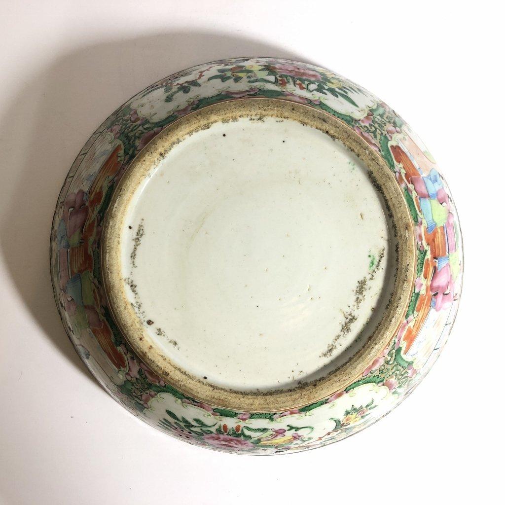 Rose Medallion bowl, c.1900 - 8
