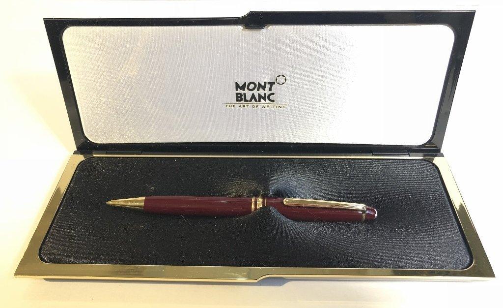 Mont blanc pen in box