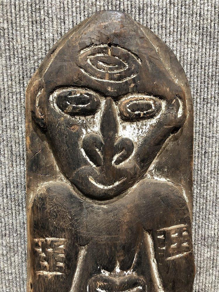New Guinea Sepik river wood carving - 3