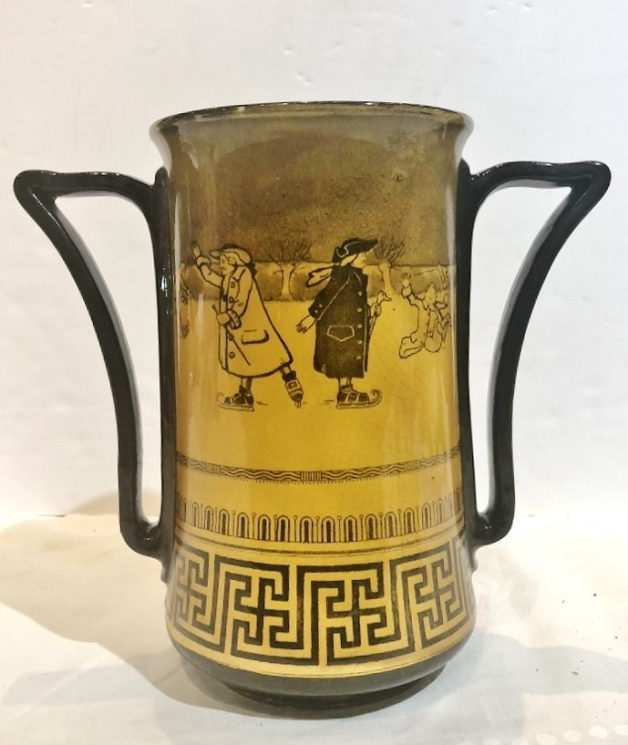 Royal Doulton two handled loving cup, c.1900