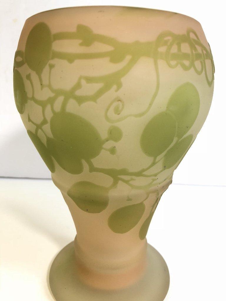 Faux Galle vase - 5