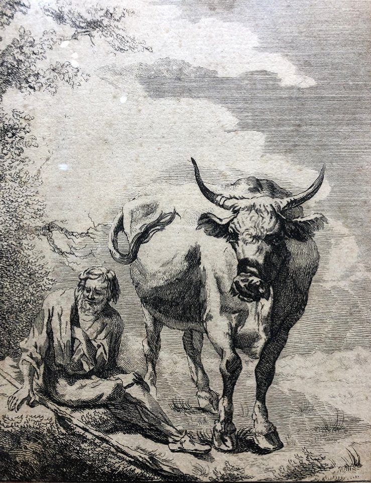 Engraving by Nicholas Visscher (17th) - 2