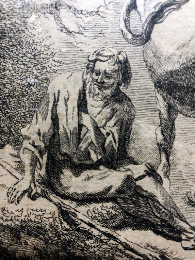 Engraving by Nicholas Visscher (17th) - 4