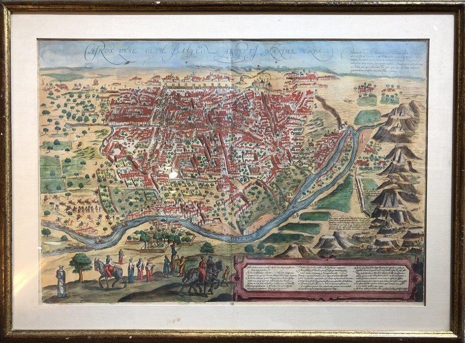 16th/17th century map