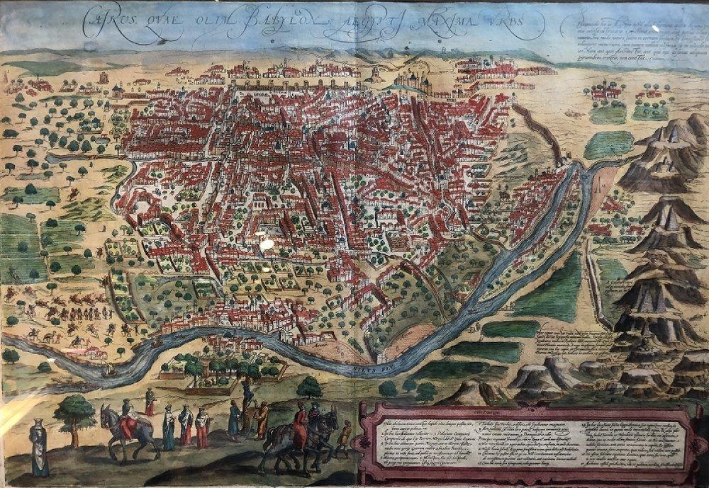 16th/17th century map - 2