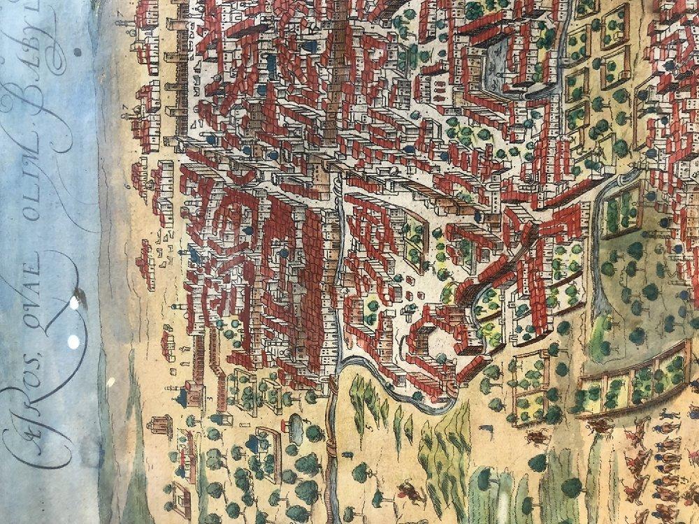 16th/17th century map - 3
