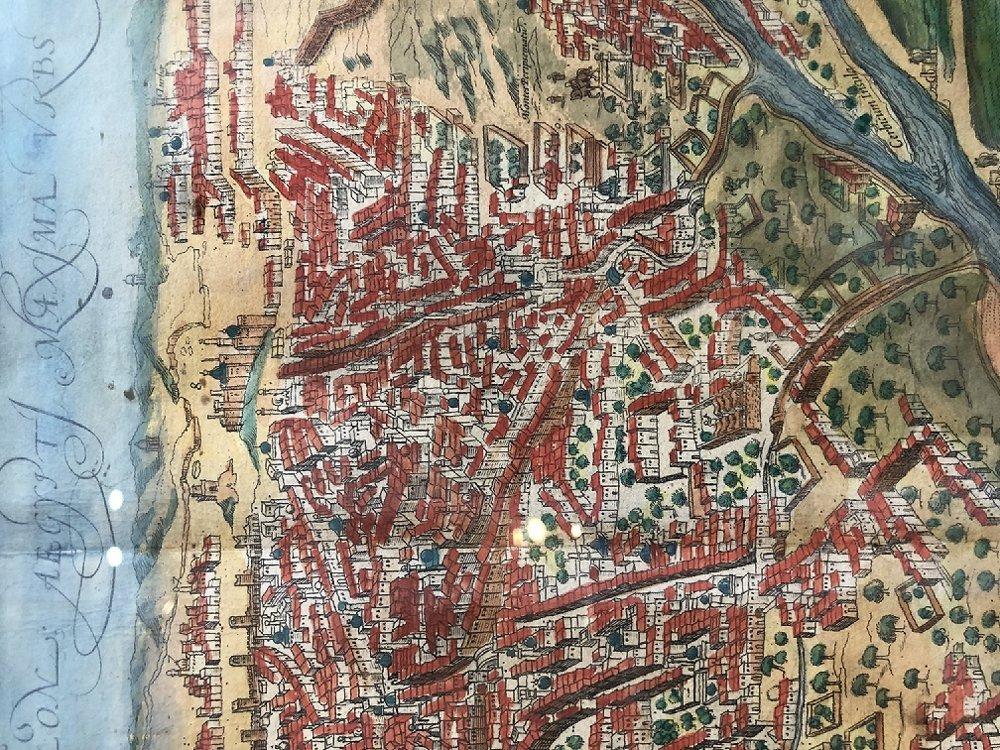 16th/17th century map - 4