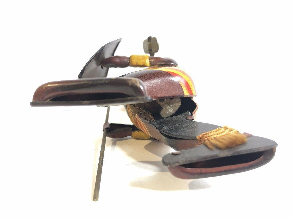 1930's wind up toy, Zulu warrior,Japanese - 4