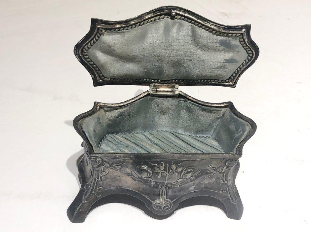 Three pieces of Art Nouveau metalwork,c.1905 - 9