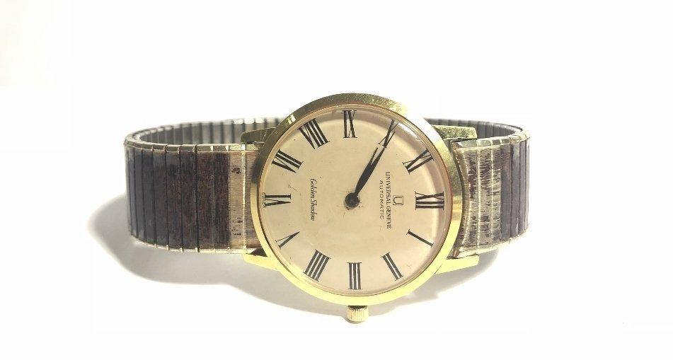 18k Universal Geneve automatic man's wristwatch,1969 - 2