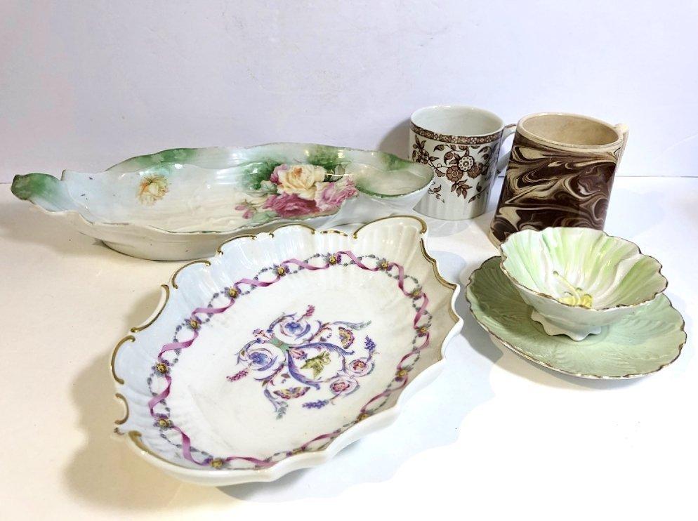 Misc European porcelain,c.1850-1920