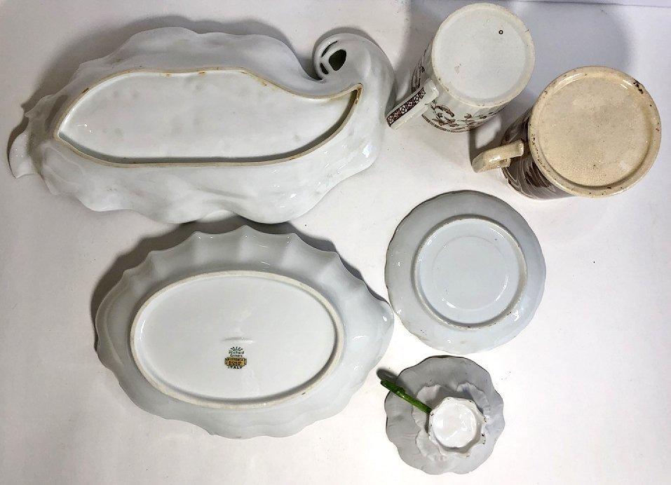 Misc European porcelain,c.1850-1920 - 3