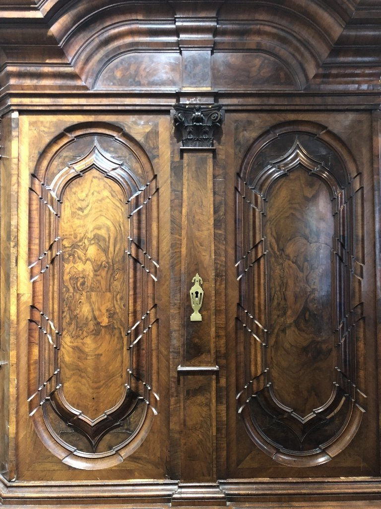 German or Austrian Baroque armoire, c.1650 - 4