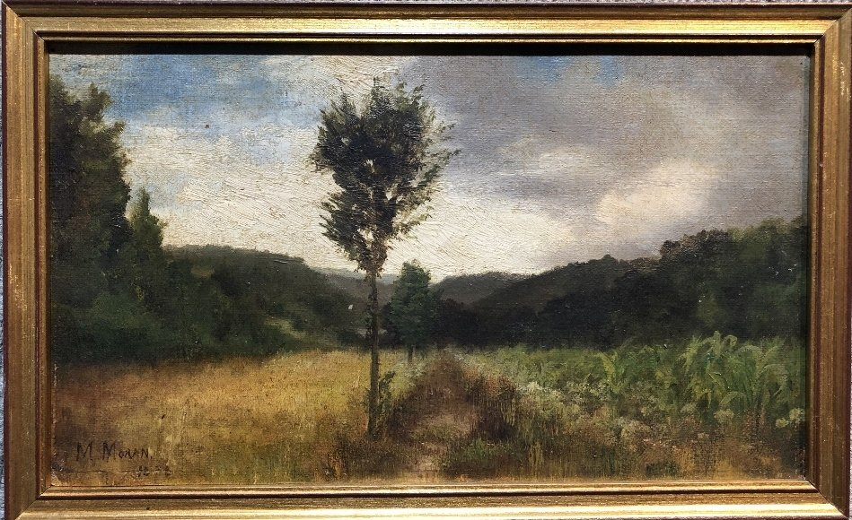 Painting of woods by Mary Nimmo Moran, c.1880