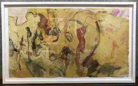 """Untitled No V"", oil painting by Willem de Kooning"