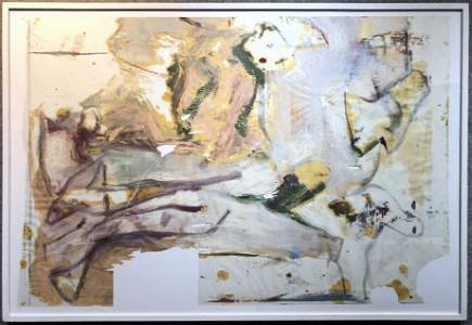 """""""Untitled No VI"""", oil painting by Willem de Kooning"""