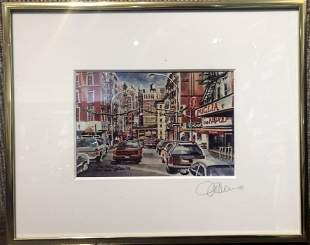 Little Italy by Michael Leuserigraph