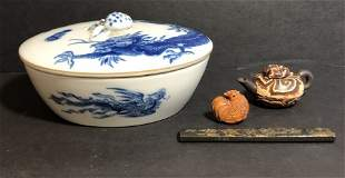 Four Japanese items, circa 1900-1960