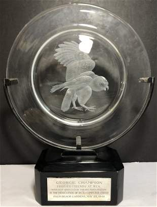 Steuben RCA, George Champion, 301 Computer 1961 award