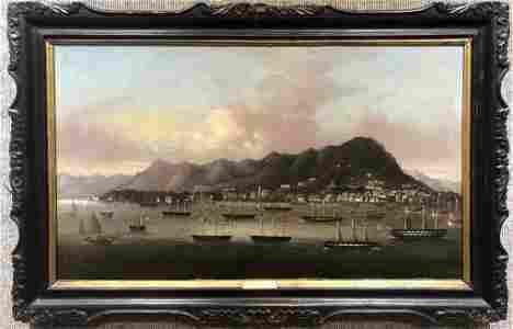 Chinese Trade painting, Fonggua School,circa 1860