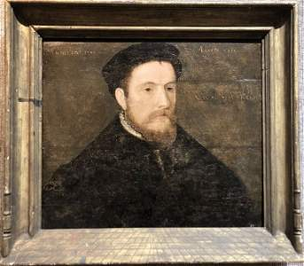 16th century portrait Henry III(?), attrib to Holbein