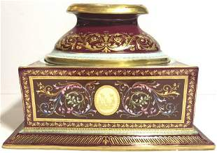 Royal Vienna stand, missing vase,circa 1880.