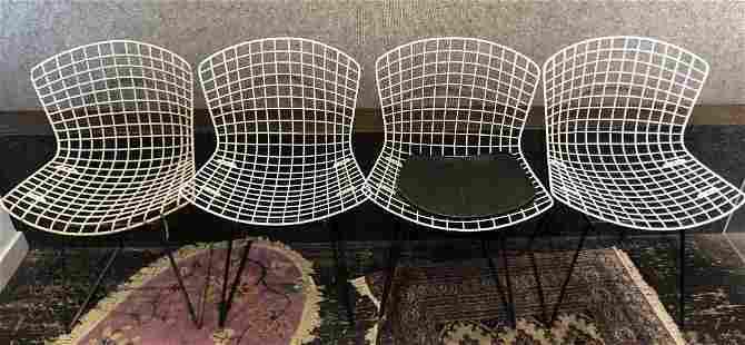 Set of four Harry Bertoia chairs, Nina Meyer Estate
