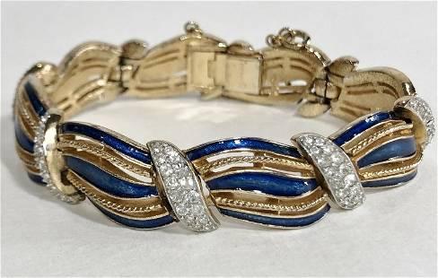 Trifari costume bracelet