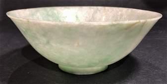 Chinese jade bowl, c.1880-1920