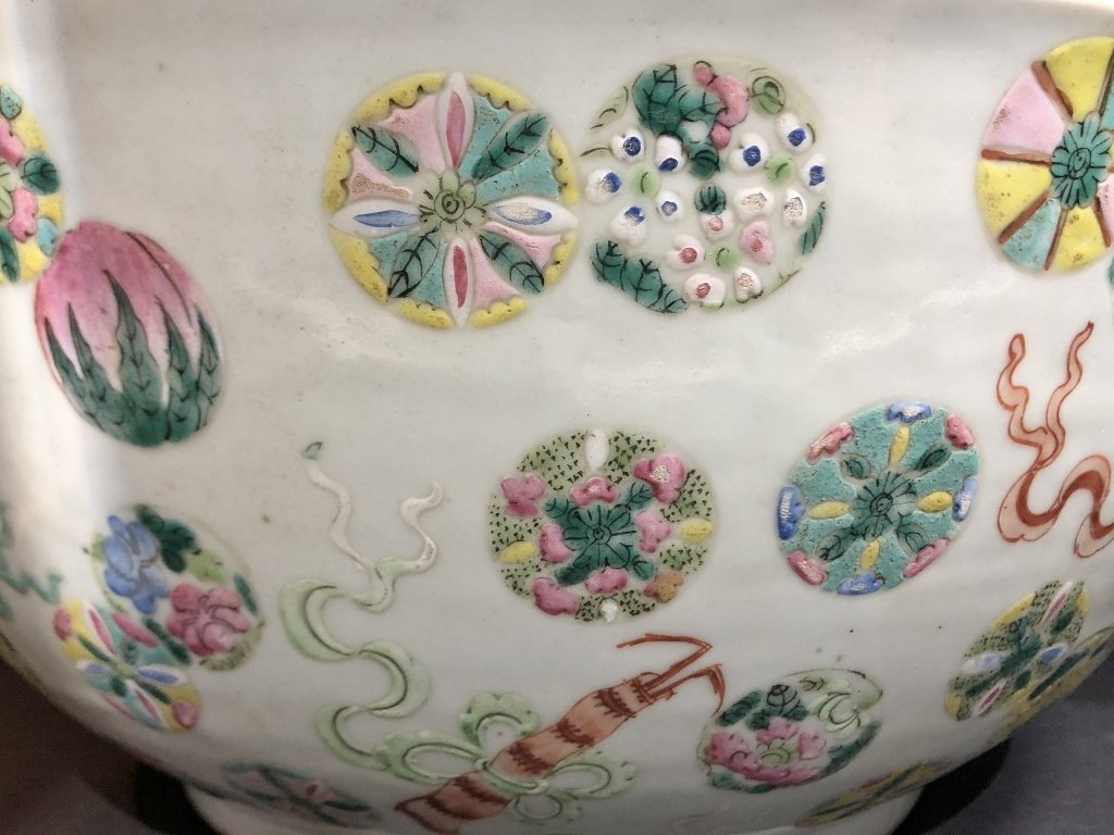 """18/19th century Chinese punch bowl. 16""""wide - 6"""