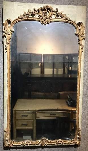 18th/19th century hall mirror