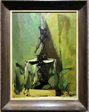 Abstract painting by William Walton(American)