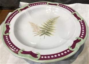 Porcelain cake plate19th century
