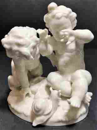 Hutschenreuther fig cupids 45 x 5 inches