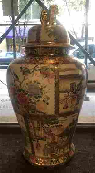 Large Chinese vase 305 inches high