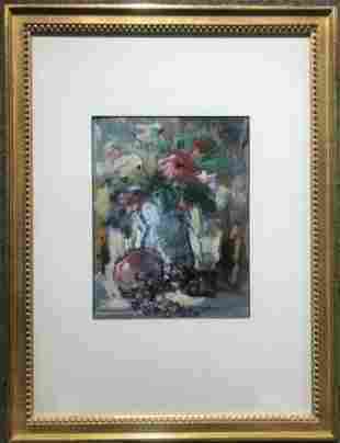 Painting of flowers by Rico
