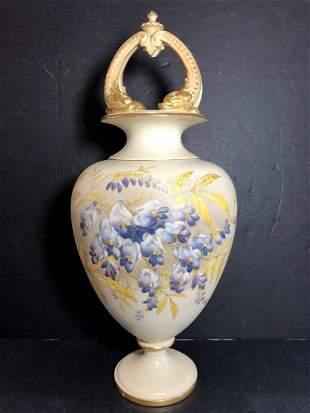 Royal Worcester vase c1900
