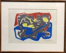 Lithograph by Roberto Burle Marx