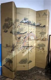 Tall Chinese folding screenc1940