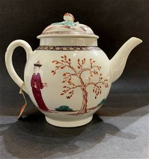 Chinese teapot with Sotheby tags